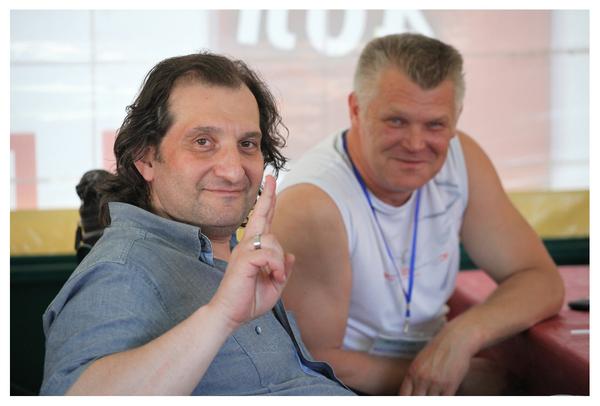 Марк Винокуров и Саша Адмирал