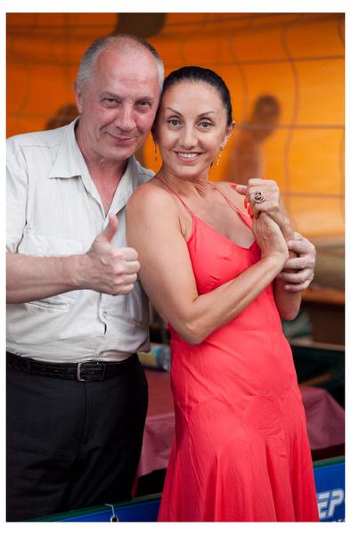 Владимир Окунев и Афина
