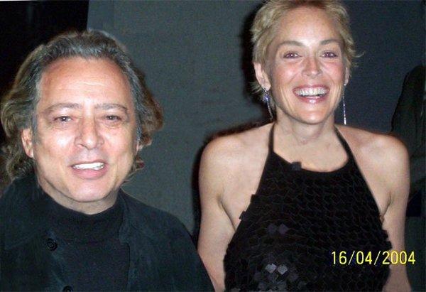 Зиновий Шершер и Шерон Стоун