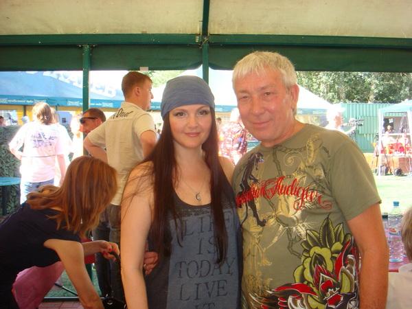 Мила и Леонид Телешев