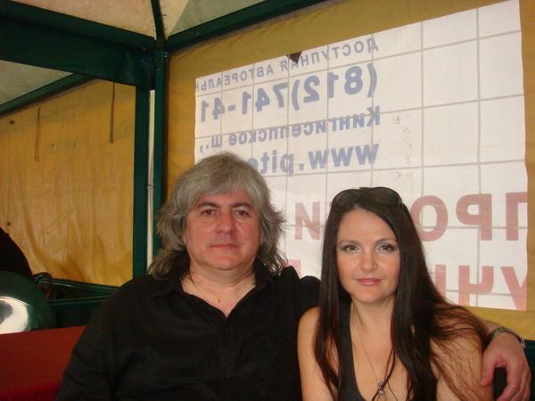 "Мила и Валерий Ющенко (ВИА ""Синяя птица"")"