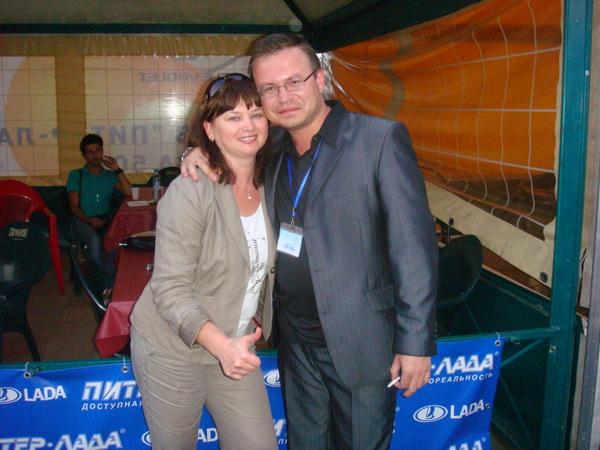 Оля Вольная и Николай Орловский