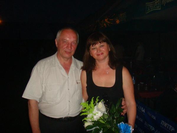 Оля Вольная и Владимир Окунев