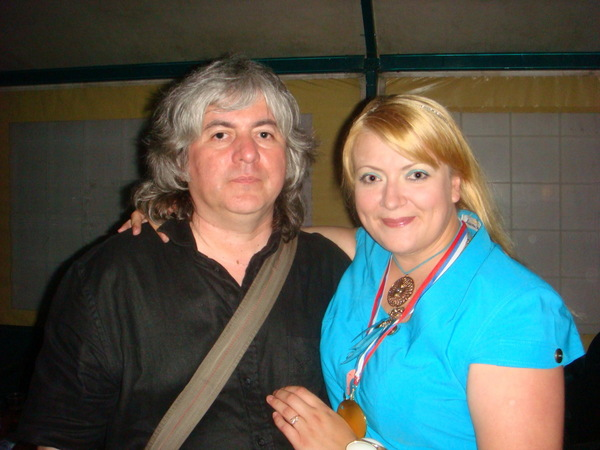 "Валерий Ющенко (ВИА ""Синяя птица"") и Маша Абрикосова"