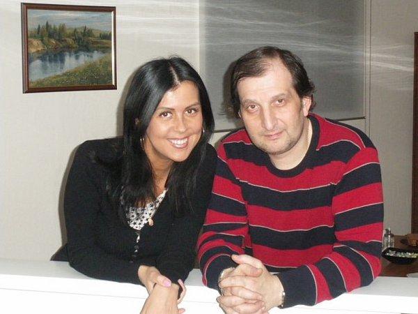 Марк Винокуров и Марина Александрова