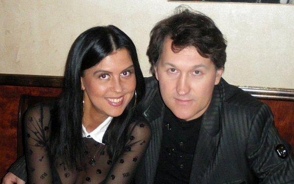 Владимир Черняков с Мариной Александровой