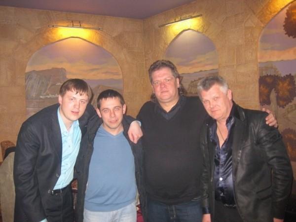 Евгений, Павел Павлецов, Олег Баянов, Саша Адмирал