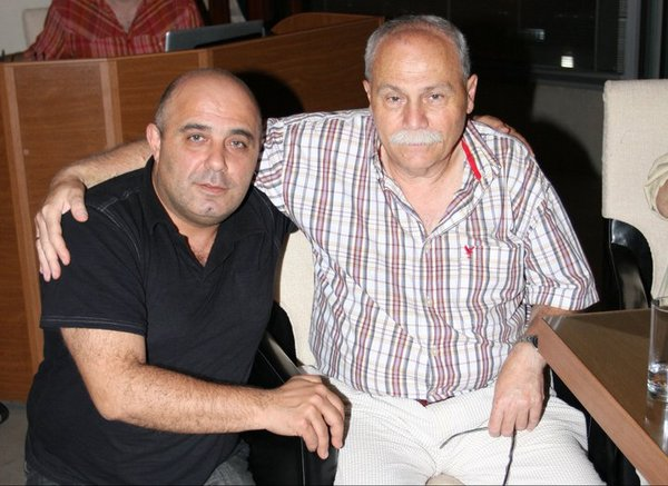 Давид Оган и его Маэстро - барабанщик Гриша Балагян