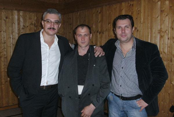 Владимир Тиссен, Александр Богомолов, Анатолий Корж