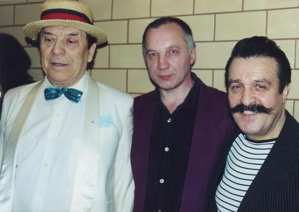 Борис Сичкин, Владимир Окунев и Вилли ТОкарев