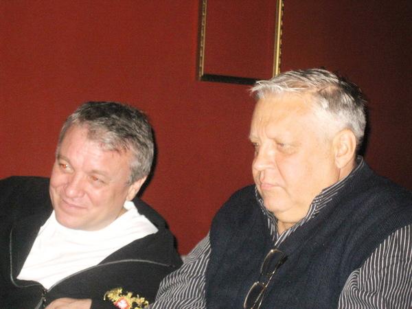 Александр Дюмин и Геннадий Жаров
