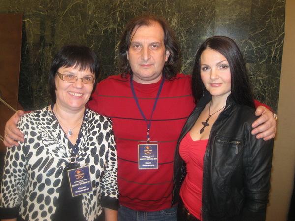 Ольга Медведева, Марк Винокуров, Мила Руденская