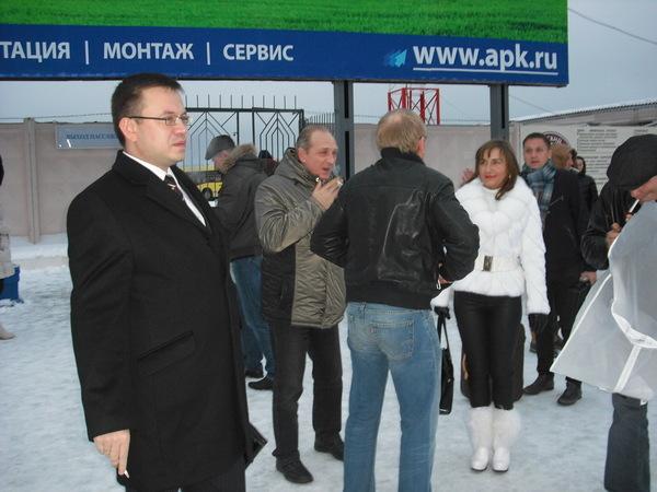 в Архангельске уже снег