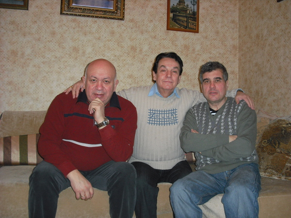 Зиновий Бельский, Эдуард Кузнецов, Евгений Гиршев