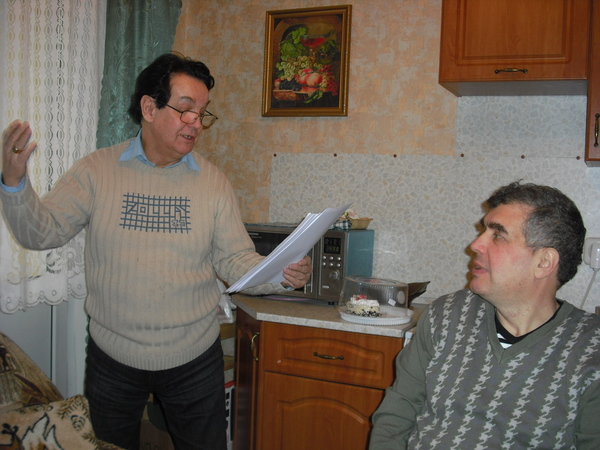 Эдуард Кузнецов, Евгений Гиршев
