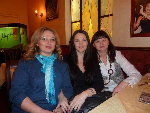Ирина, Мила Руденская и Оля Вольная