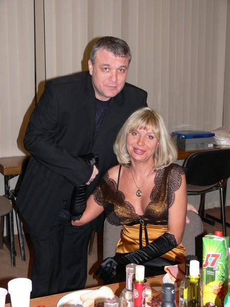 Александр Дюмин и Катерина Голицына