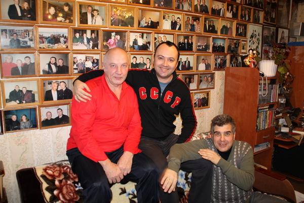 Максим Кравчинский, Евгений Гиршев и Владимир Окунев