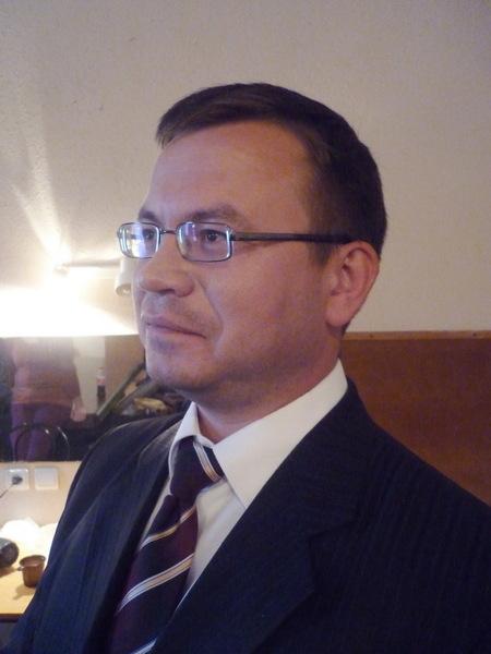 ведущий концерта Николай Орловский (Санкт-Петербург)