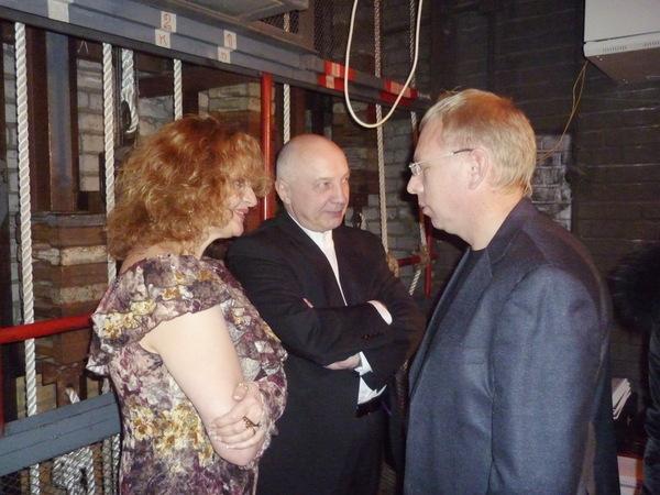 Лариса Закиева (Каменец-Подольский - Украина), Владимир Окунев и Владимир Двинской (Архангельск)