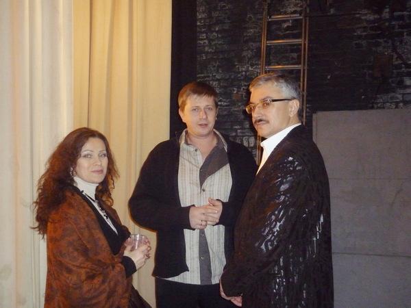 Владимир Тиссен с супругой (Германия) и Михаил Кириллов (Красноярск)