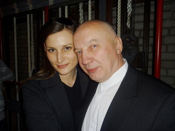 Илона Тюмина и Владимир Окунев