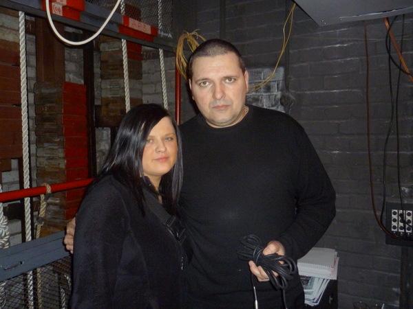 Настя Козлова и Александр Звинцов