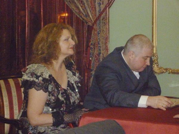 Лариса Закиева (Каменец-Подольский - Украина) и Алексей Коробейников (Архангельск)
