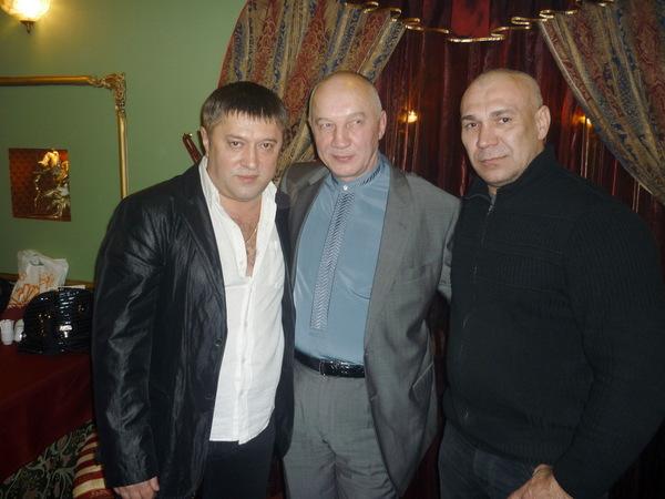 Николай Белов, Владимир Окунев и Леонид