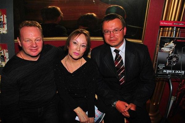 Александр Стволинский, Кира Хабарова и Николай Орловский
