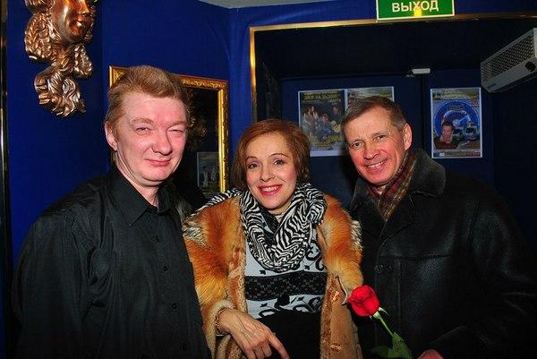 Сергей Спиридонов, Наталья Сорокина и Алексей Краев