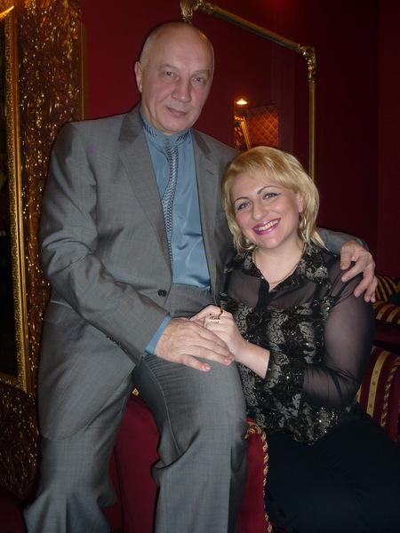 Наталья Войс и Владимир Окунев. С. Петербург, 12.02.2012 г.