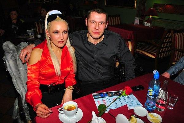 Виталий Волк с супругой