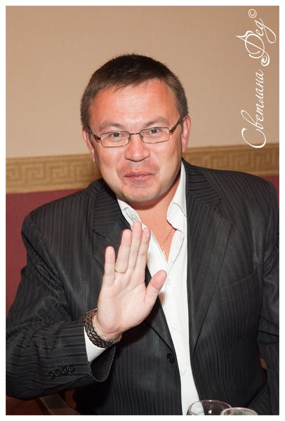 Николай Орловский - ведущий вечера