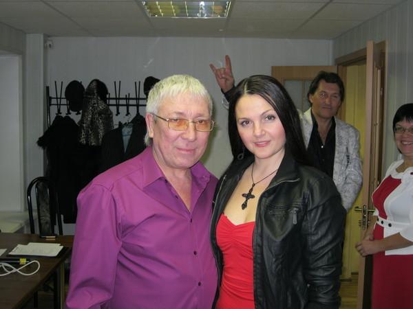 Мила Руденская и Леонид Телешев