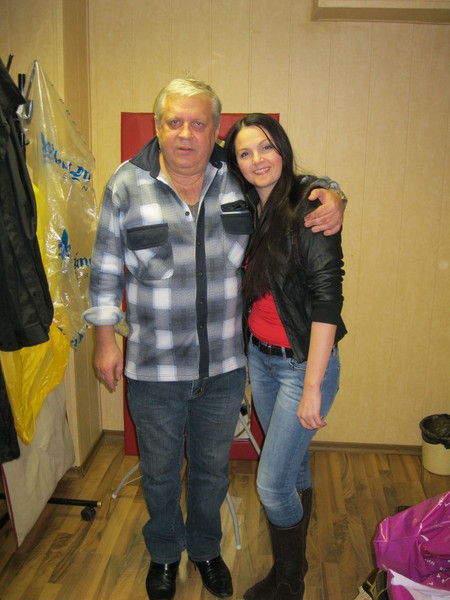 с Геннадием Жаровым