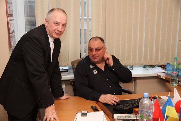 Владимир Окунев и Валерий Петрович Загороднюк