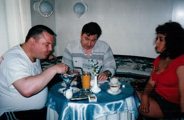 с Михаилом Шелегом и Еленой Вакуленко