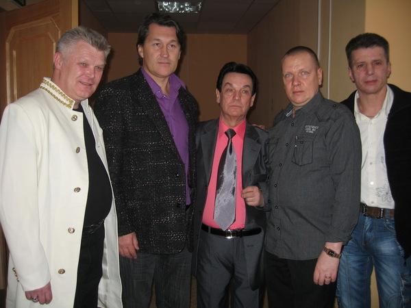 Саша Адмирал, Владимир Черняков, Эдуард Кузнецов, Александр Цаплин и Денис Стрельцов