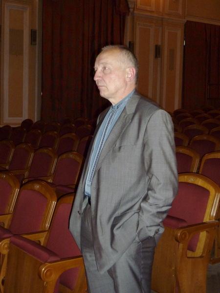 директор Музея шансона и радио РаШа Владимир Окунев