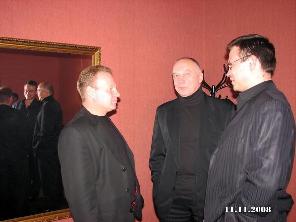 Александр Стволинский, Владимир Окунев, Николай Орловский