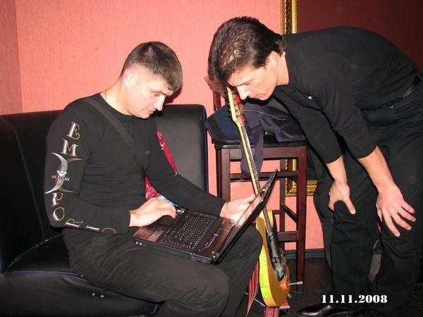 Павел Ростов и Денис Стрельцов