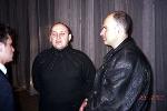 Всеволод Богомольный (ведущий концерта), Стас Михайлов, Валерий Худошин (организатор концерта)
