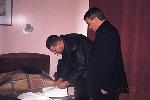 Александр Звинцов и Александр Дюмин
