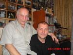 Владимир Окунев и Дмитрий Быковский в Музее шансона