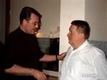 Владислав Медяник и Николай Серафимович Резанов
