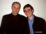 В. С. Окунев и Тимур Шаов