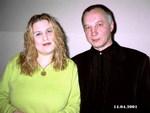 Катя Огонёк и Владимир Окунев