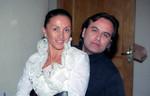 Афина и Олег Шведов