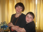 Наталья Звездина и сын Аркадий